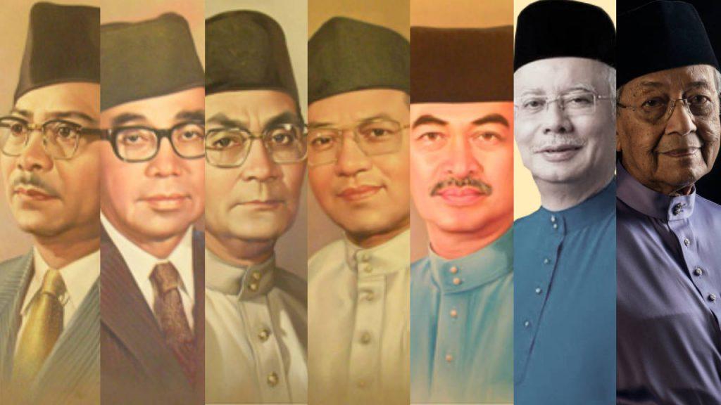 pemimpin melayu yang menjadi perdana menteri