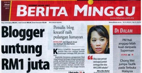 Bagaimana headline artikel mampu mempengaruhi pembaca membaca artikel dan iklan hingga habis